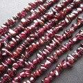 Frete grátis Red Natural Garnet Chip beads Garnet contas para fazer jóias jóias acessórios de moda áspero