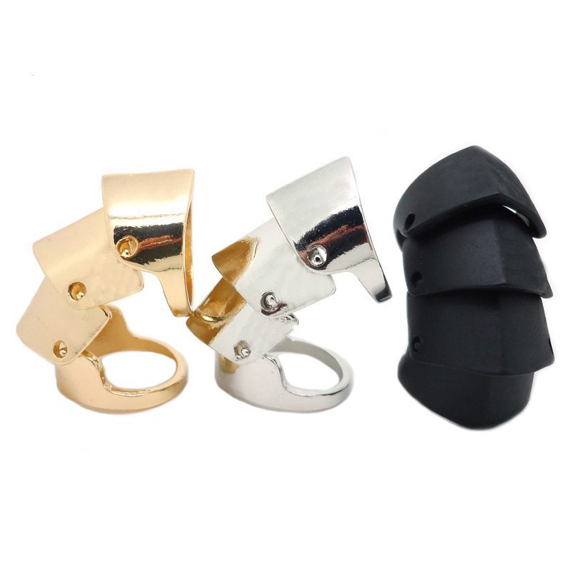 fashion cheap jewerly steunk armor knuckle ring