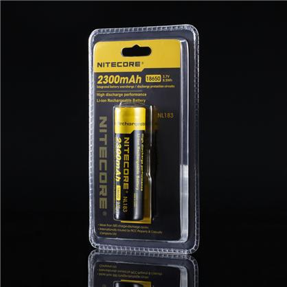 Free Shipping 1PC Nitecore 18650 NL183 2300mAH 3.7v Protected PCB Li-ion Lithium Rechargeable Battery цена