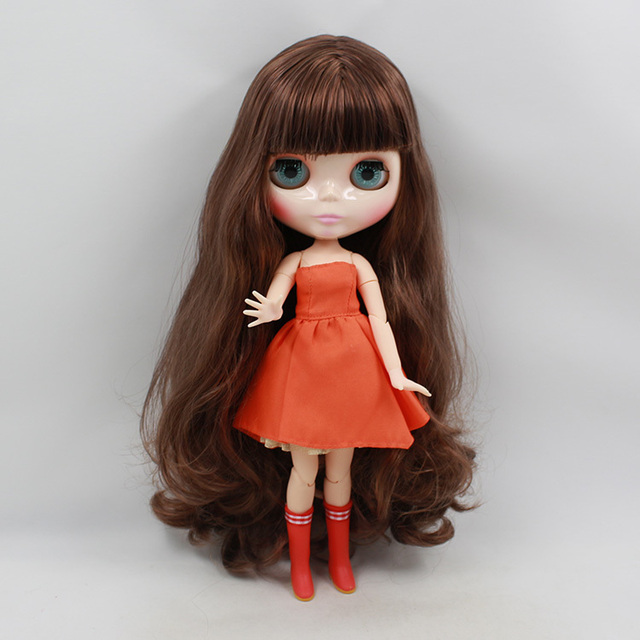 ICY Neo Blythe Doll Brown Hair Jointed Body