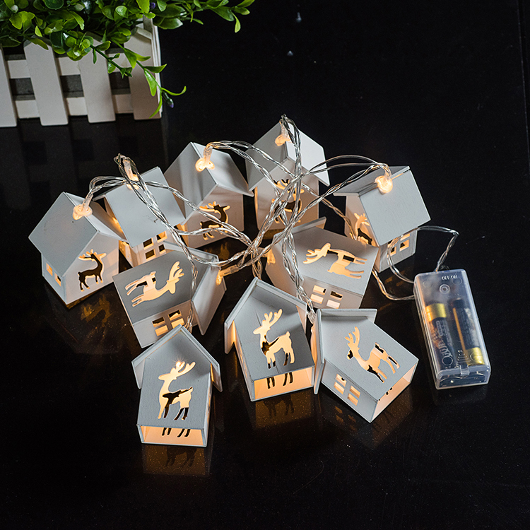 Decorative-Led-String-Light-Wooden-House-Deer-Shaped-Lantern-Strings-Bedroom-Party-2XAA-Battery-Operated-165cm (5)