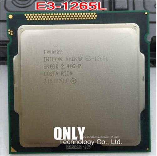 Procesador de Cpu Xeon E3 1265L, 2,4 GHz, 45W, LGA1155, E3, 1265L, para HP MicroServer Gen8, mejor que E3 1260L, Envío Gratis