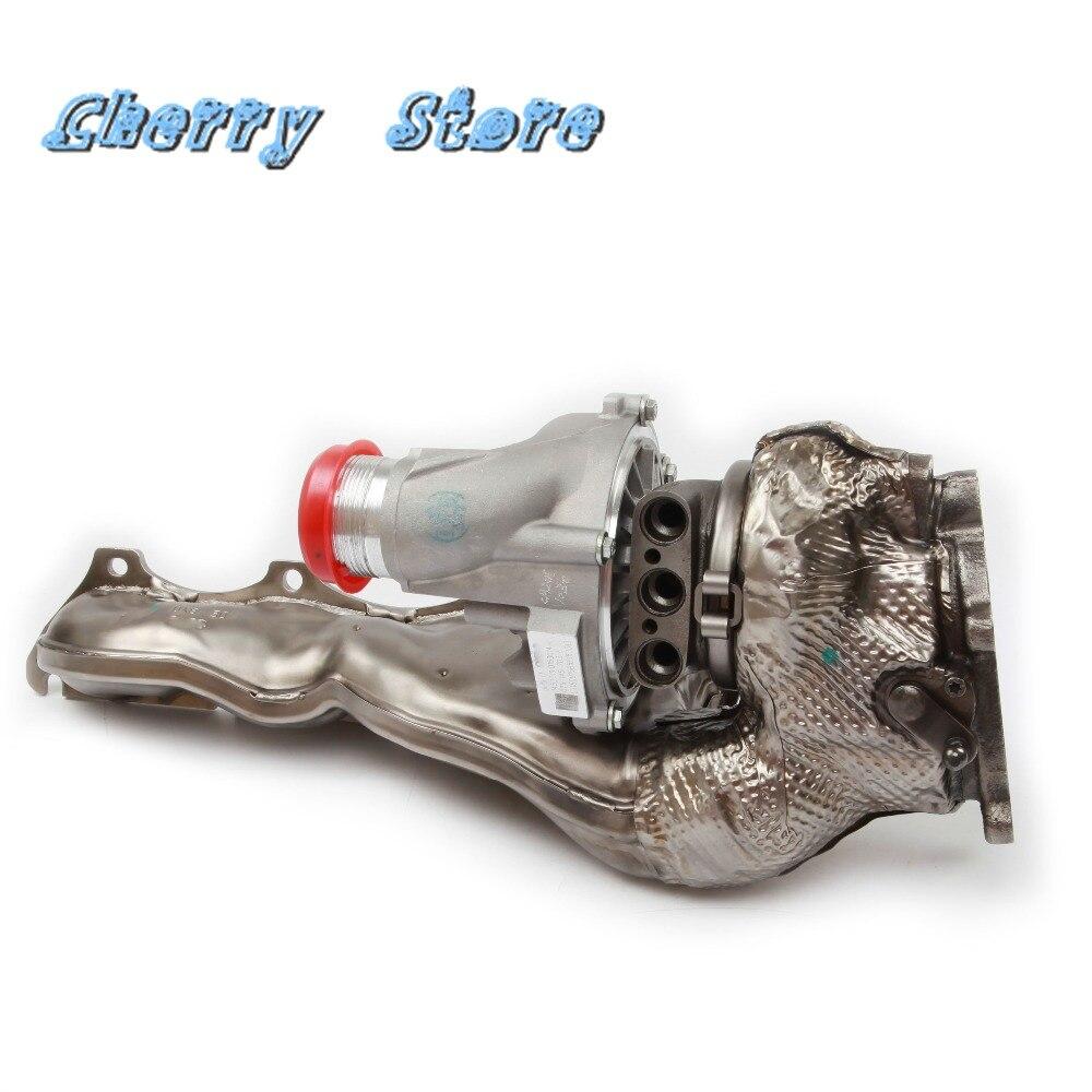 Nouveau 079 145 703 E gauche turbocompresseur Turbolader Turbo chargeurs pour Audi A6 A7 Sportback A8 S8 4.0 TFSI 079145703E refroidi à l'eau