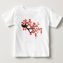 2018 the latest childrens T-shirt Chinese style summer short sleeved clothing Chinas printed