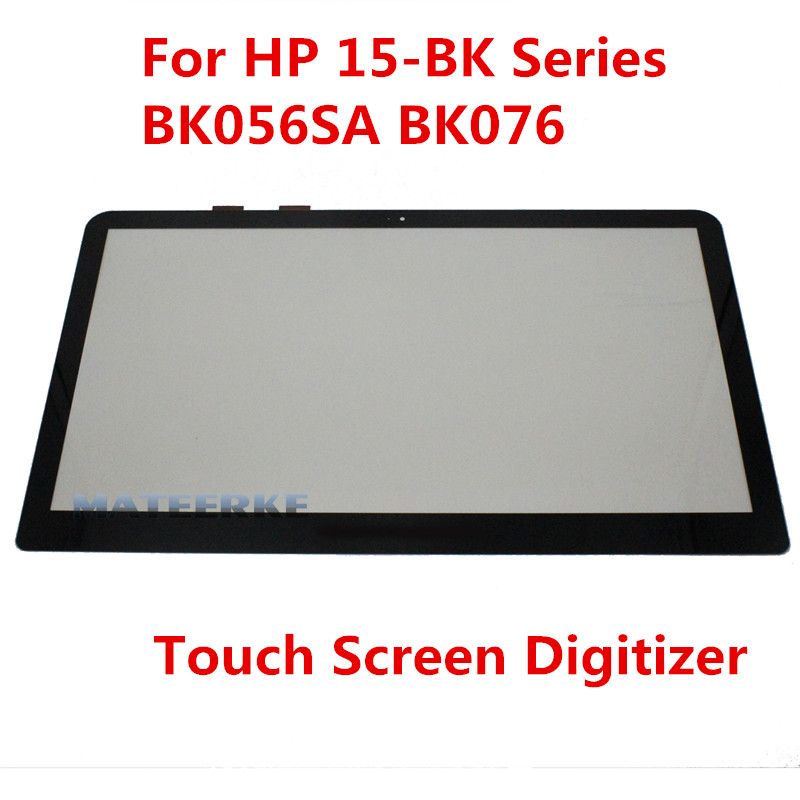 For HP Pavilion x360 15-bk series 15-bk002nia 15-bk021nr 15-bk117cl 15-bk074nr 15-bk056sa 15-bk076 Touch screen digitizer Glass 15 6 touch screen digitizer glass for hp pavilion touchsmart 15 n series replacement free shippng
