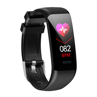 C20 Smart Watch With Heart Rate Monitor Weather Message Push Activity Tracker Fitness Smartwatch IP68 for Iphone Xiaomi