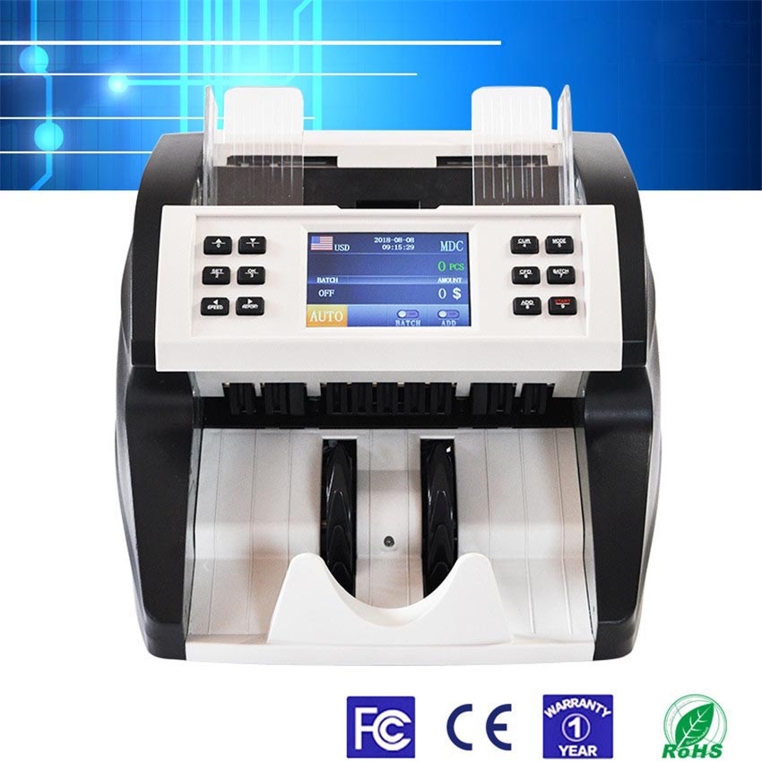 Machine Money-Counter Counterfeit-Detector Cash FT-500 IR UV MG Sdc/cnt-Model Automatic