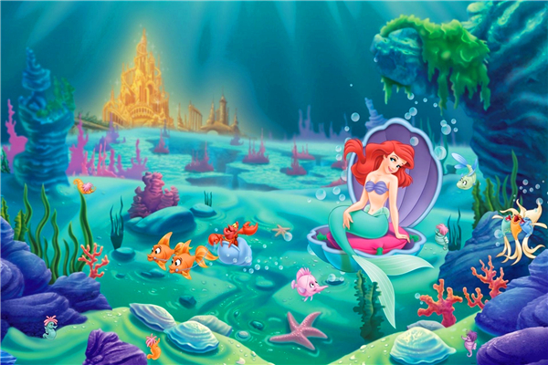 Aliexpresscom  Buy Custom Canvas Art The Little Mermaid