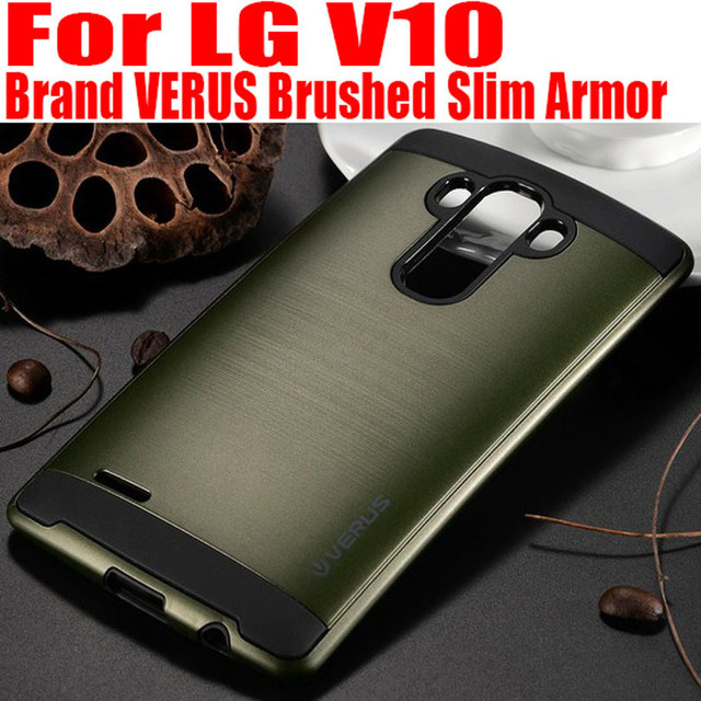 US $3 29 |For LG V10 case Brand VERUS brushed Slim Armor Neo Hybrid  Silicone + PC Back Cover Case for LG V10 LGV4 on Aliexpress com | Alibaba  Group
