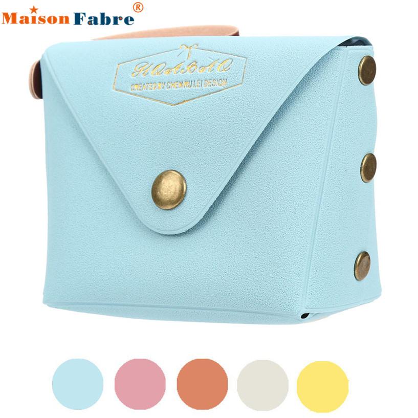 Hot Sale Women Lady Student Macaron Bow Serie Fashion Change Purse Coin Purses wholesale Feb07