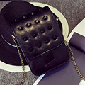 Newest Women Shoulder & Crossbody Bags Fashion Simple Rivet Style Mobile phone Handbags Leisure Flap Messenger Bags #W-86