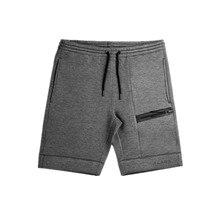 ALPHA 2019 Summer New Fashion Brand Men Shorts Zipper Patchw