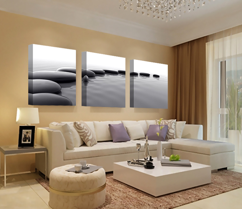 Art Pebbles Definition Pictures Canvas Prints Home Decoration Living Room Wall Picture Modular