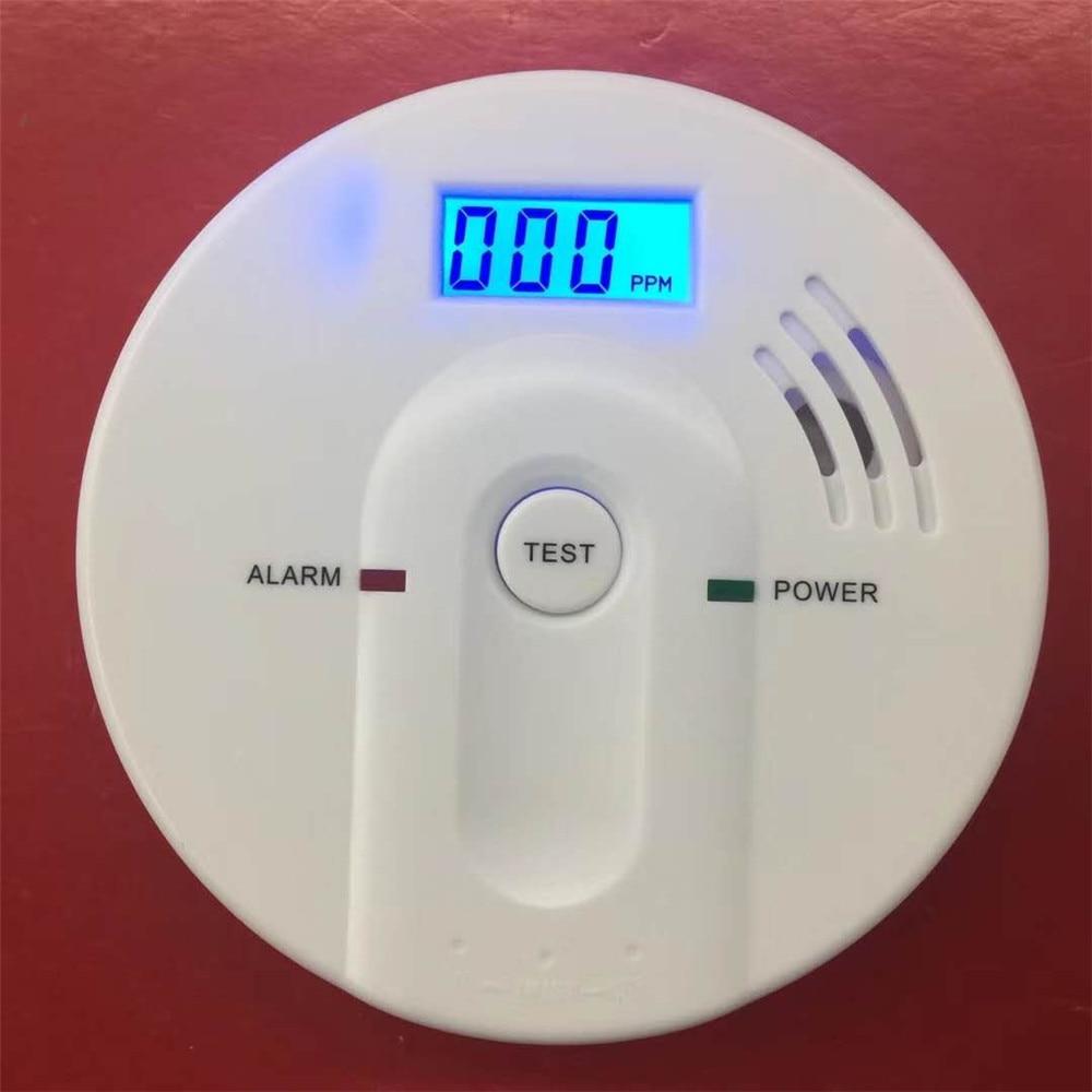 85dB Carbon Monoxide Detectors Independent Poisoning Warning Alarm CO Gas Sensor Detectors