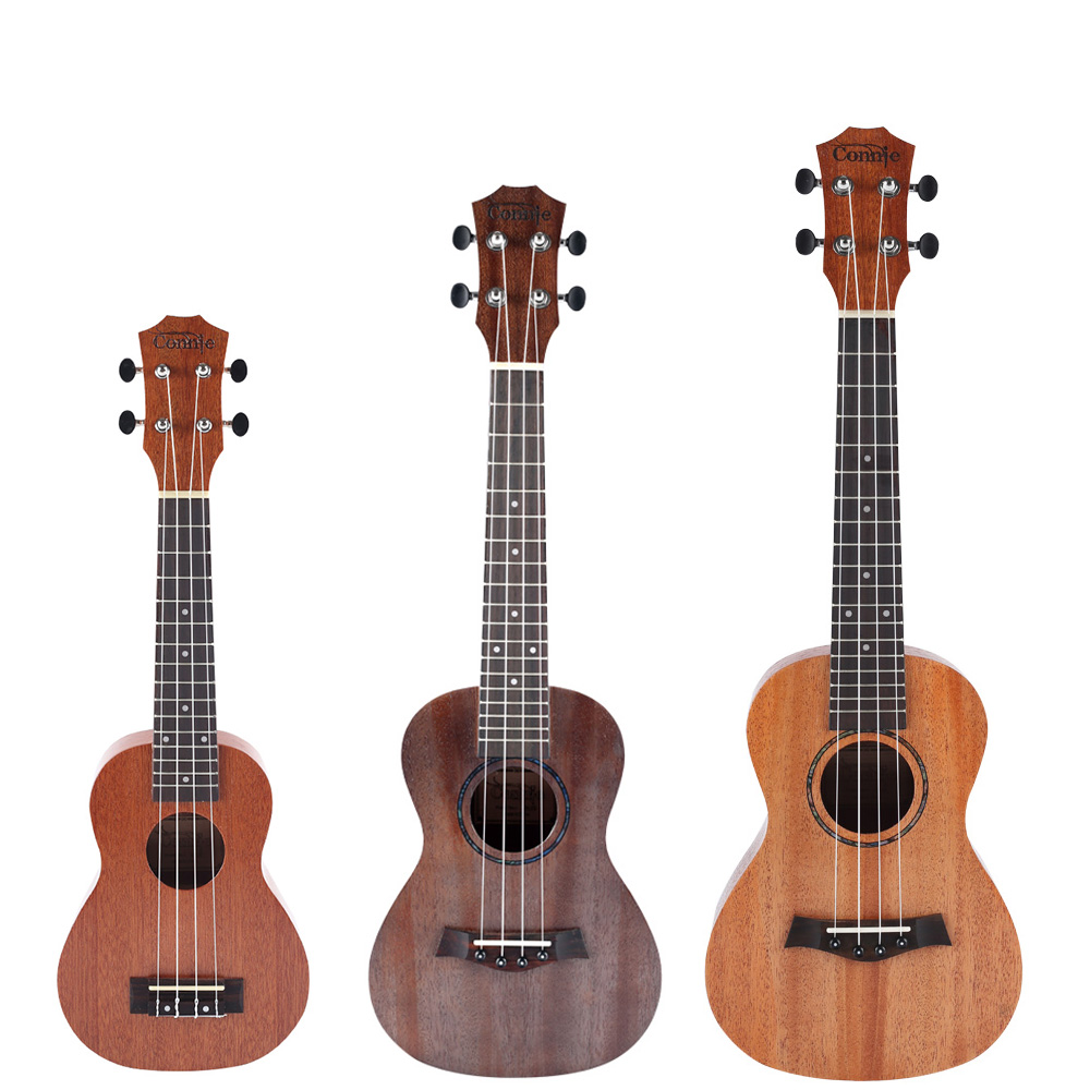 Connie Ukulele Concert Soprano Tenor Ukelele Mini Acoustic Guitar electric Ukelele Guitarra String instruments