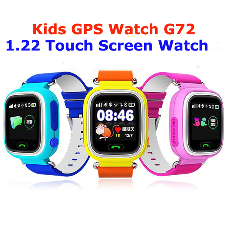New Touch Screen GPS Phone Positioning Children font b Watch b font Color SOS Smart font