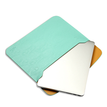 Fashion PU Leather Notebook Sleeve Bag Protector Case for Mac book 11 12 13 14' 15 Macbook Air Pro Laptop Carry Bag 2017 for macbook air pro 11 12 13 15 inch laptop vacuum bag pu leather case sleeve notebook ultrabook carry bag case pouch