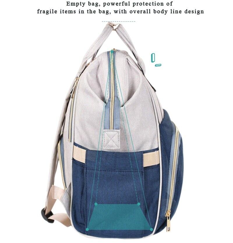 HTB1uKPZdBCw3KVjSZFlq6AJkFXac Large Capacity Mommy Maternity Bag Diaper Nappy Bag Bolsa Maternida Printed Bebe Bag Travel Backpack Desiger Nursing Baby Care