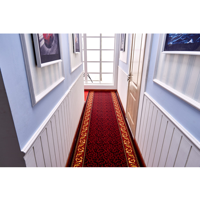 Nordic Red Stair Carpet Area Rugs Bedroom Living Room Floor Mats Hallway Carpet Mat Home Hotel Decor Carpets Custom Made