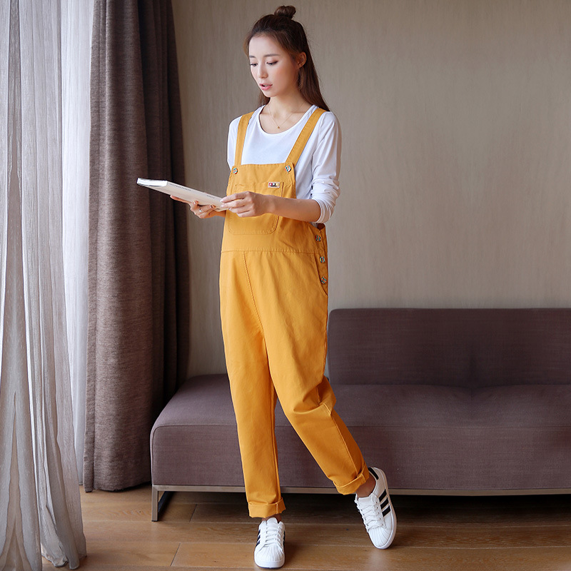 Fantastic Cartoon Pregnant Overalls Maternity Jumpsuits Rompers Pregnancy Women
