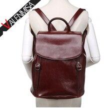 Valenmisa бренд Винтаж Пояса из натуральной кожи рюкзак подростковый Обувь для девочек повседневные Рюкзак Школьные сумки женская дизайнерская большой Дорожные сумки