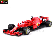 Bburago 1:43 AMG Ferrari F1 manufacturer authorized simulation alloy car model crafts decoration collection toy tools
