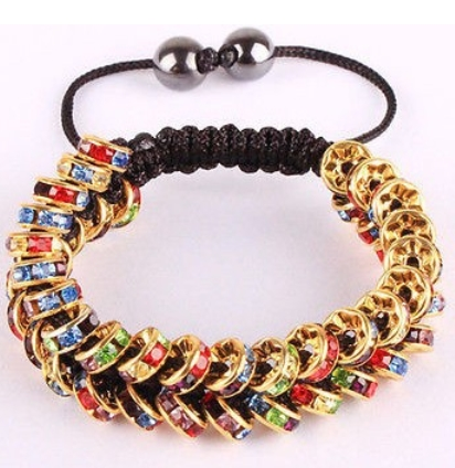Buy rhinestone shamballa bracelets and get free shipping on AliExpress.com ead49b5f23bc