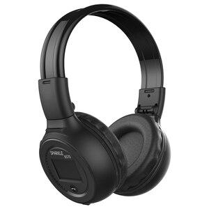 Image 2 - Gorliwy B570 słuchawki bezprzewodowe Radio fm na ucho słuchawki Stereo na Bluetooth zestaw słuchawkowy do komputera telefon, obsługa karty TF, AUX