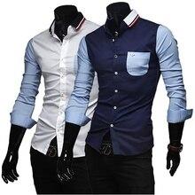 Men's Shirts Fashion Denim Short Sleeve Formal Shir
