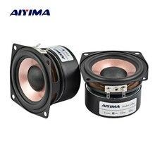 AIYIMA 2 шт. 2,5 Φ 4 Ом 8 Ом HIFI Настольный Полнодиапазонный динамик высокой чувствительности 8-15 Вт