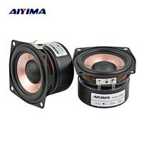 Aiyima 2PC 2 5Inch Audio Speaker 4Ohm 8Ohm HIFI Desktop Full Range Speaker High Sensitivity Loudspeaker