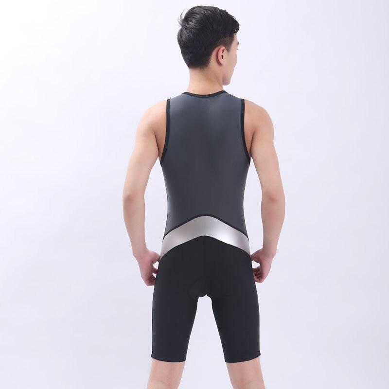 Dámské tričko Tričko Tričko Tričko Tričko Tričko Tričko Tričko s polstrovaným Tri Suit Bicycle Cycling Jednodílné pánské tričko bez rukávů Summer Coverall PU textilie Jumpsuits