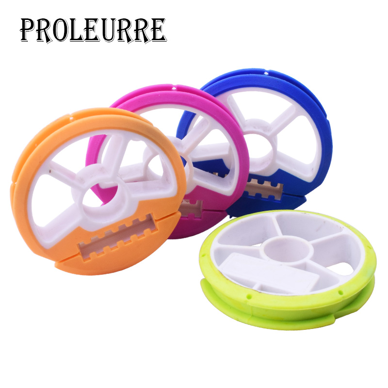 3pcs Silicagel Winding Main Coil Board Plate Fishing Line Wire Rotating Dash Facing Fishing Tool Box Spool Fishing Gearlica