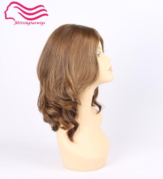 Tsingtaowigs Custom made european virgin hair unproces jewish wigs silk top kosher wig Best Sheitels