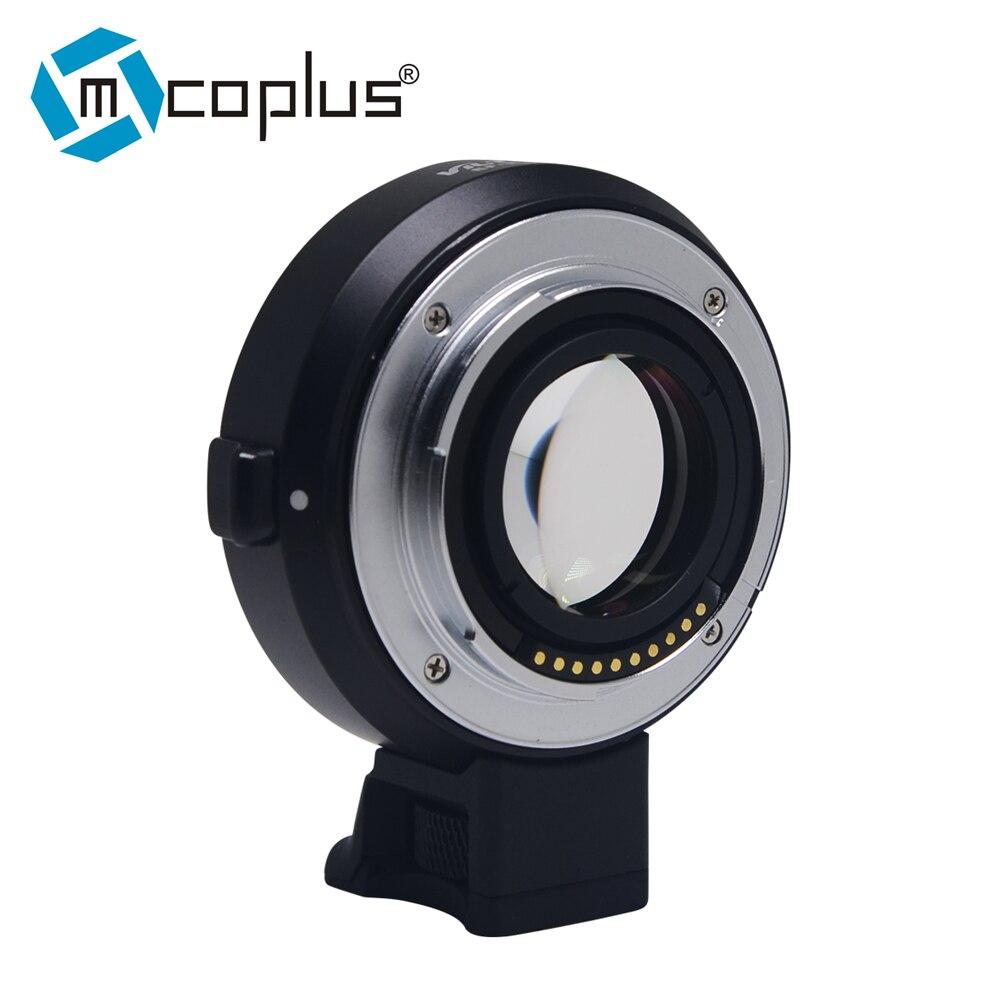 Reductor de velocidad Booster focal Adaptador para Canon EF Lente Mount NEX A6400 Sony E
