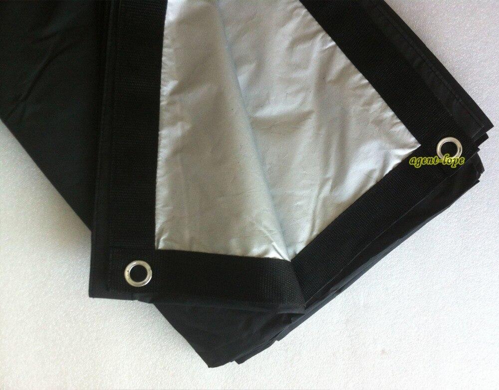 1,8x1,8 m 6'x6' 6x6 Schwarz & Grau doppel gesicht Leinwand Tuch licht black out reflektieren-in Fotostudio-Zubehör aus Verbraucherelektronik bei  Gruppe 1