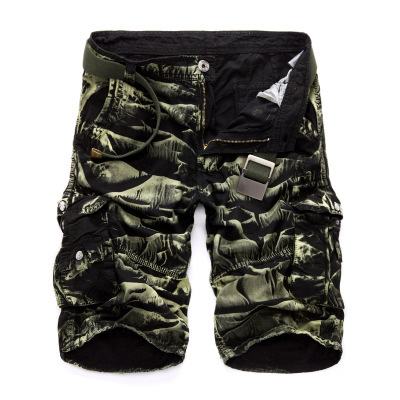 Military Cargo Shorts Men Summer Camouflage Pure Cotton Brand Clothing Comfortable Men Tactical Camo Cargo Shorts 16