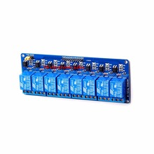 With optocoupler 8 channel 8-channel relay control panel PLC relay 5V module for arduino hot sale in stock