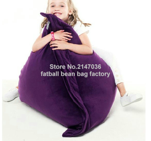 Kids funny bean bag chair, living room children seat home furniture sofas, patio beach beanbag chairs