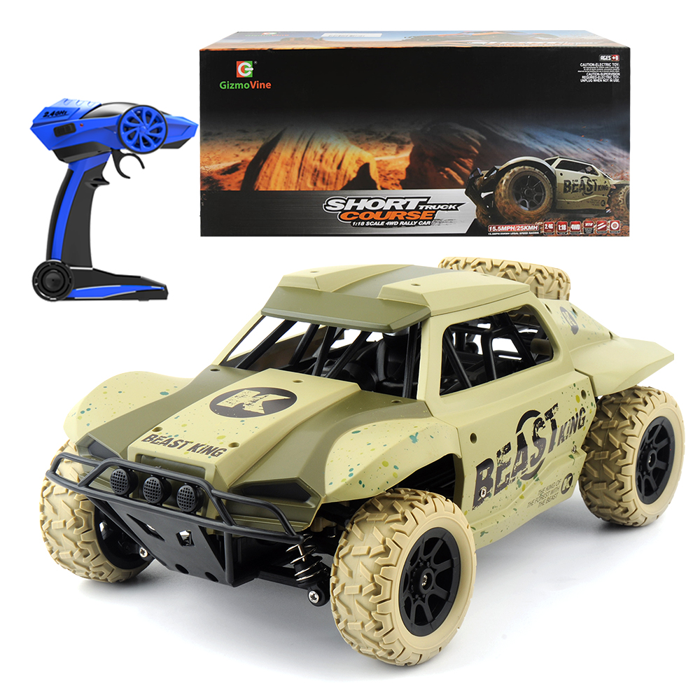 1/18 RC Car 25hm/h Off road Drift Buggy 2.4GHz Radio Remote Control Racing Car Model Rock Crawler Vehicle Toys xmas gifts-in RC Cars from Toys & Hobbies