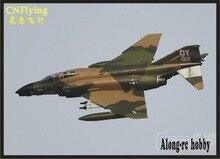 F 4C phantom ii 6s 8s pnp retrátil avião/rc modelo hobby freewing novo avião elétrico rc jet F 4/d avião 90mm edf