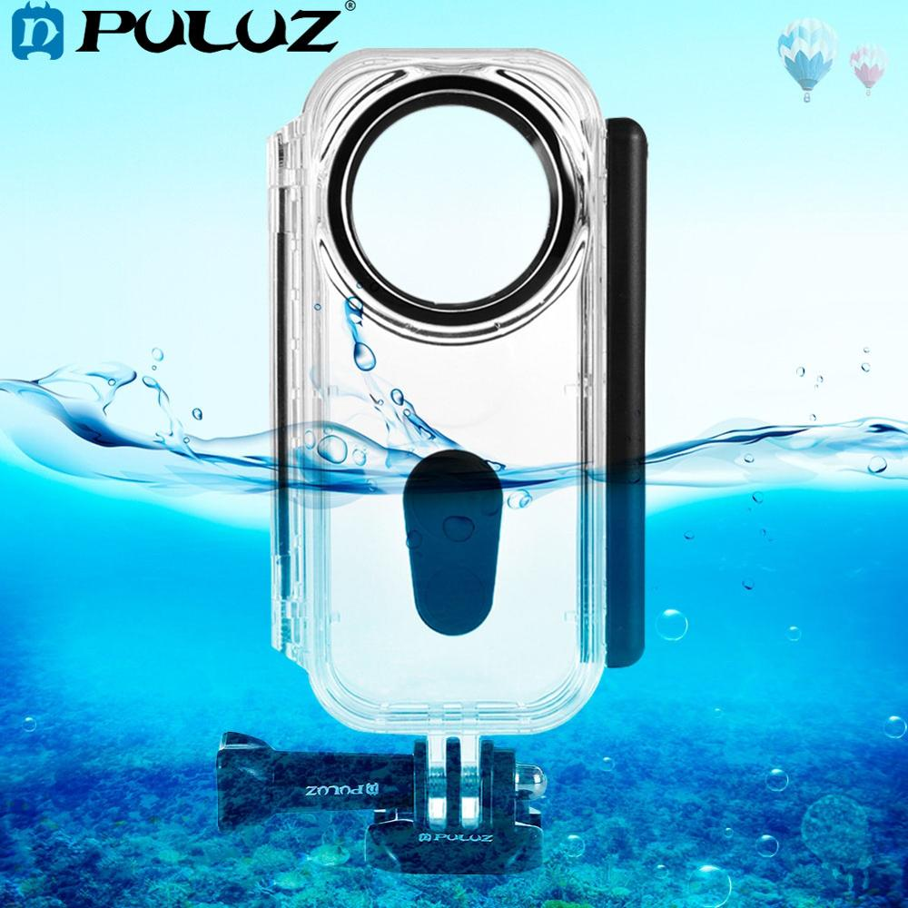 PULUZ 5m Underwater Waterproof Housing Protective shell Case for Insta360 ONE X Camera Accessories Buckle Basic