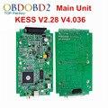 Unidade principal V2.28 KESS KESS V2 OBD2 Gerente Sintonia Kit HW V4.036 Sem Tokens Limitada Kess 2 Mestre Versão ECU programador