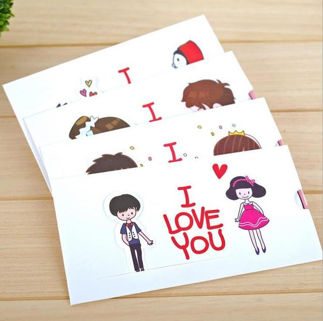 I LOVE YOU Pure Baby Birthday Cards Novelty Greeting Cards – Novelty Birthday Cards