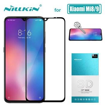 Xiao mi mi 9 mi 8 verre Nillkin CP + Max couverture complète 3D verre trempé protecteur d'écran pour Xiao mi mi 9 mi 8 mi 9 mi 8 SE Nilkin verre