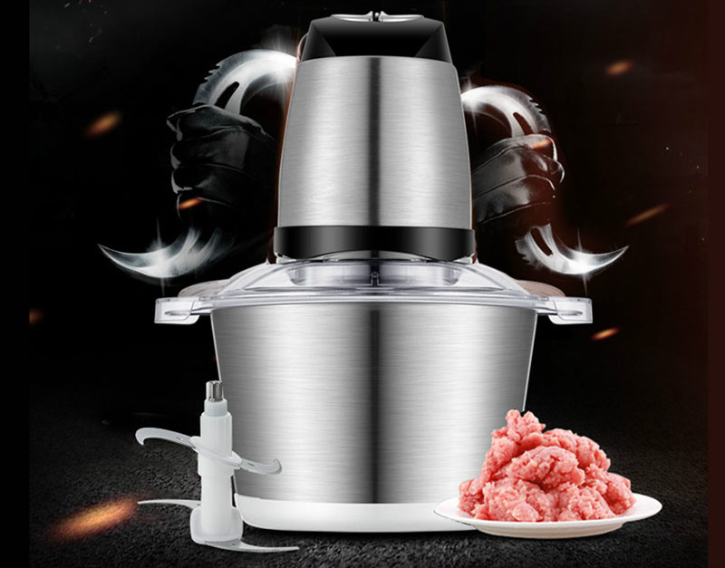 Meat Grinders home electric grinder stainless steel blender small minced garlic with