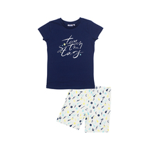 Пижама Winkiki для девочек (футболка+шорты)