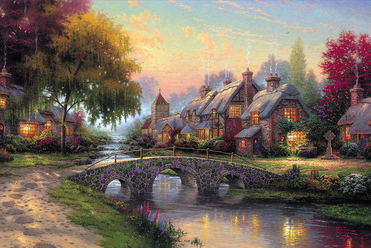 2015 landscapes fantasy castle wood 3d jigsaw puzzle 1000 pieces for adults and kids educational toy gift in puzzles from toys hobbies on aliexpresscom - Painted Wood Castle 2015