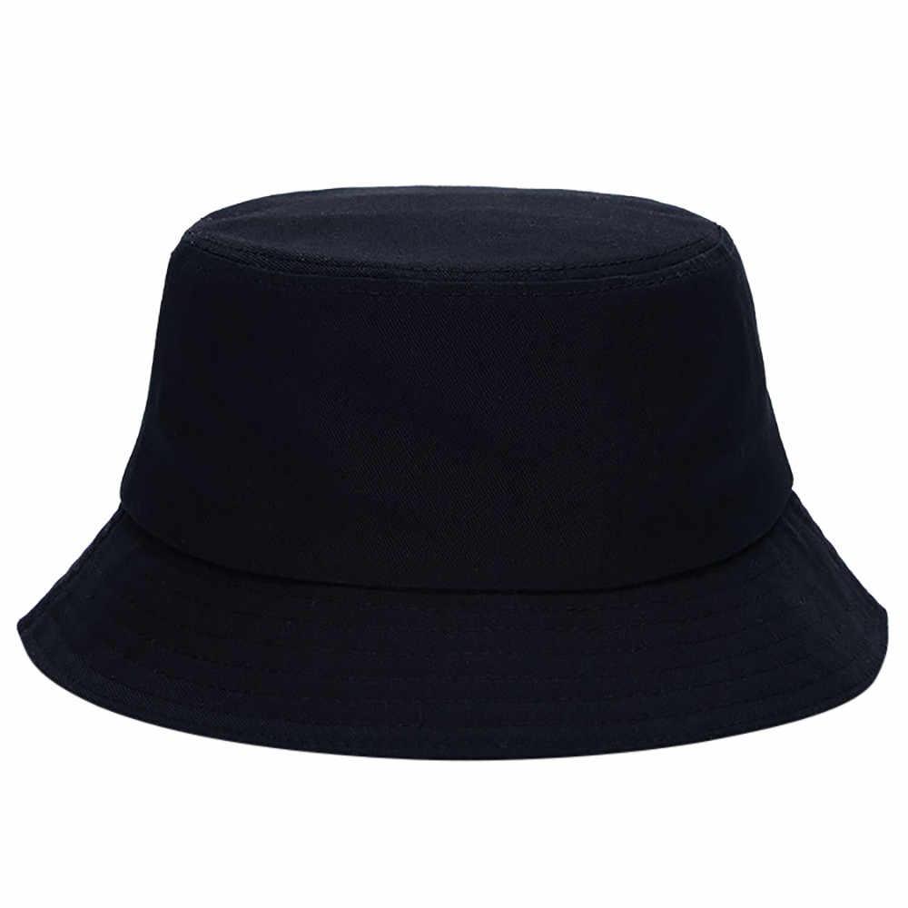 2019 Fashion Hat Bucket Hat Cotton Fishing Brim visor Men Sun Hunting Summer Camping Cap Hot sale