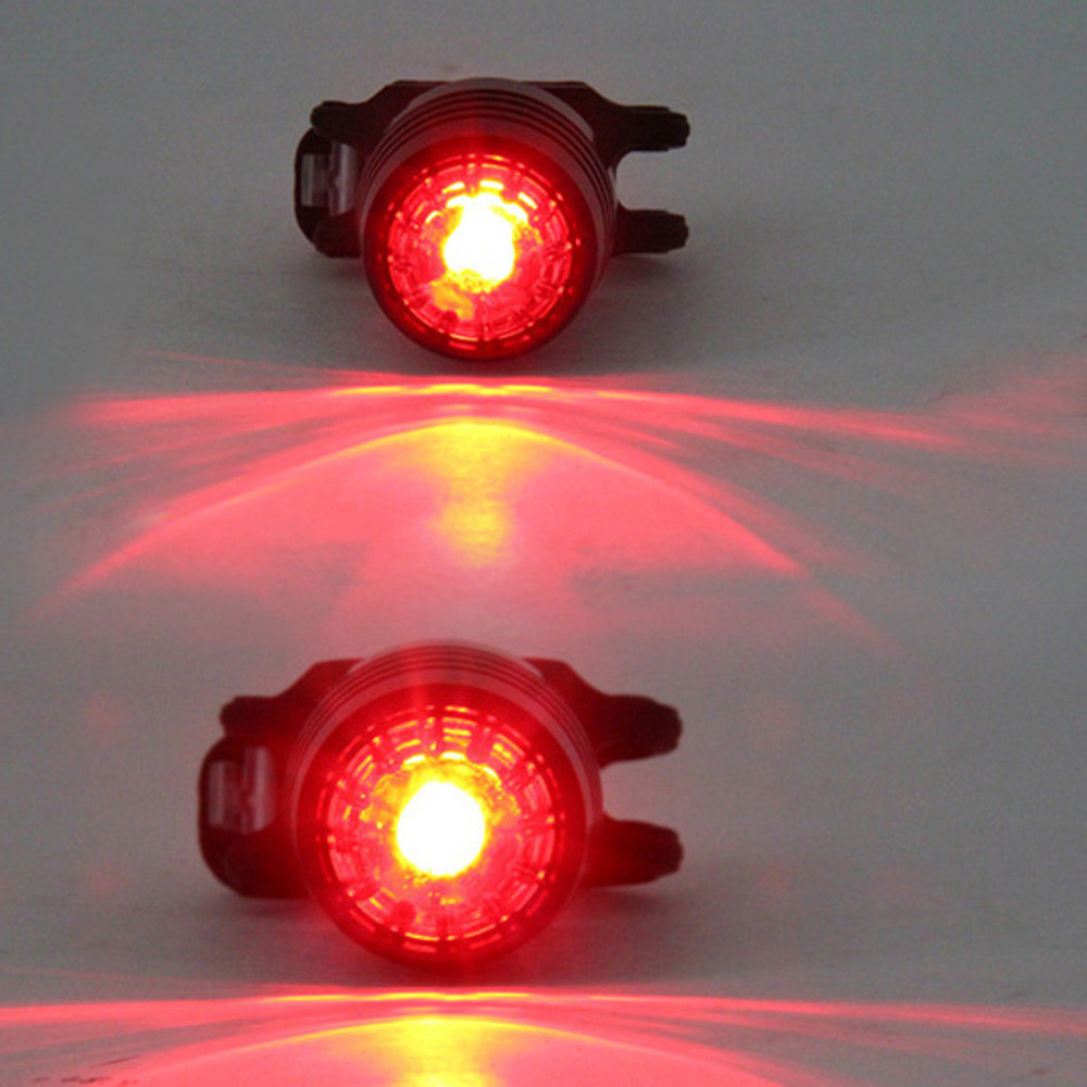 Bicycle light CYCLE ZONE Bicycle LED USB Charging Rear Tail Warning Safety Light Lamp Red Light 3 Modes High Quality Apr25